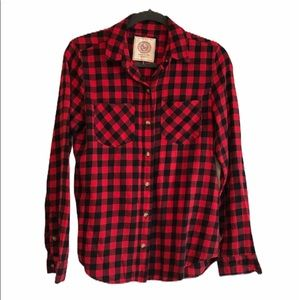 Authentic American Heritage flannel shirt M